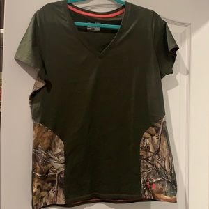 Under Armour Camo T-shirt Never Used